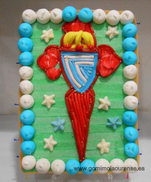 Tarta Real Club Celta de Vigo