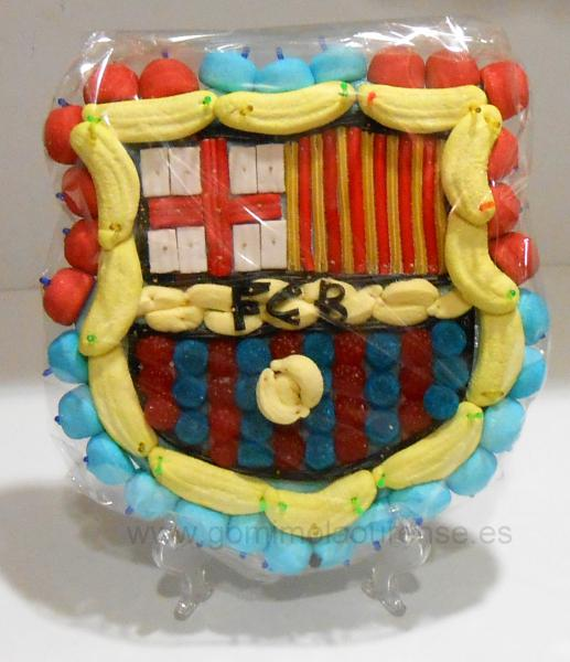 Tarta chuches Barça