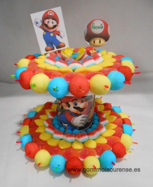Tarta dos pisos Mario Bross