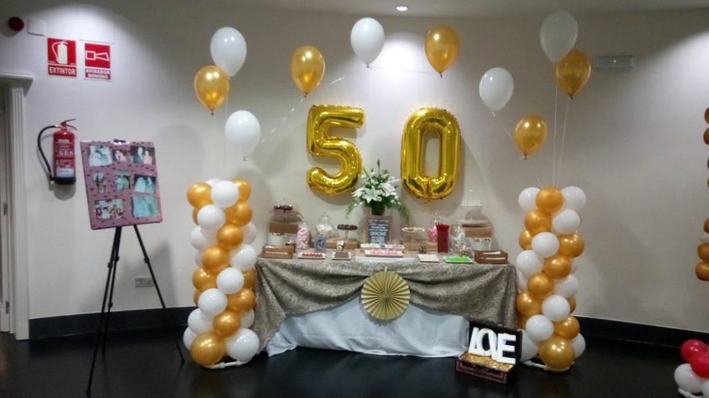 Mesa dulce 50 aniversario