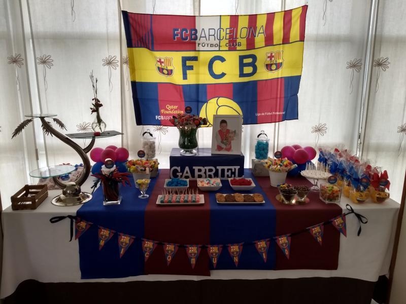 Mesa dulce FC Barcelona