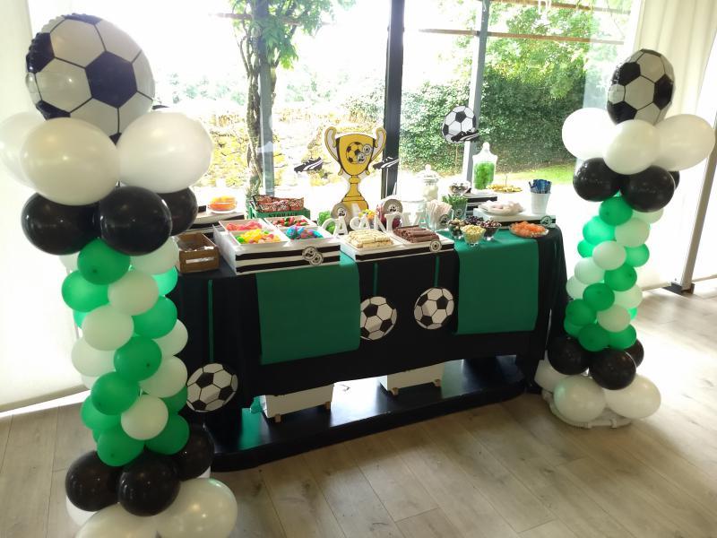 Mesa dulce futbol