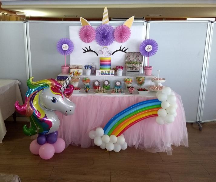 Mesa dulce unicornio