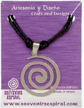 Colgante espiral Celta