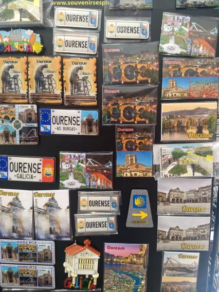 Imanes de nevera de Ourense