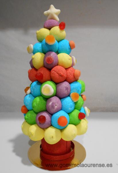 Arbol de gominolas Navidad